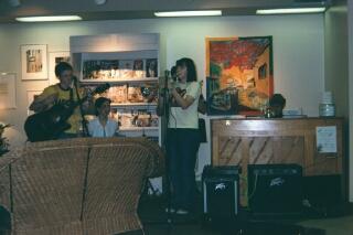 From left: James, Megan, Kate, Jeremy